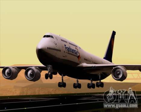 Boeing 747-830 Lufthansa - Fanhansa for GTA San Andreas
