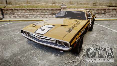 Dodge Challenger 1971 v2.2 PJ6 for GTA 4
