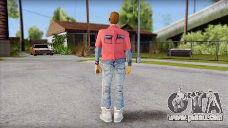 Marty with No Hat 2015 for GTA San Andreas second screenshot