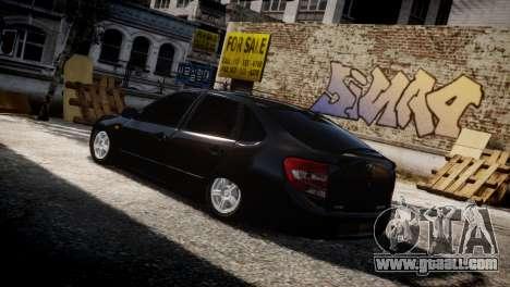Lada Granta for GTA 4 side view