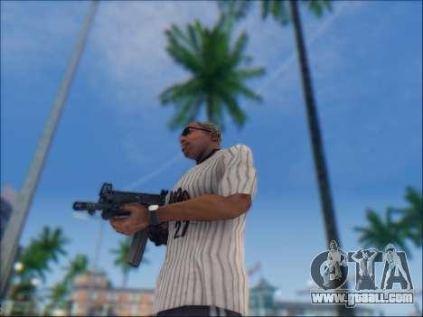 Israeli carbine ACE 21 for GTA San Andreas seventh screenshot