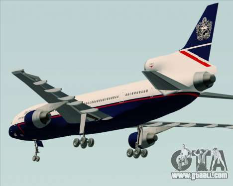 Lockheed L-1011 TriStar British Airways for GTA San Andreas right view