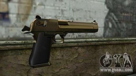 Graffiti Desert Eagle v2 for GTA San Andreas second screenshot