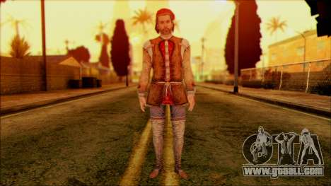 Ezio from Assassins Creed for GTA San Andreas