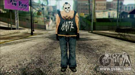 Manhunt Ped 11 for GTA San Andreas