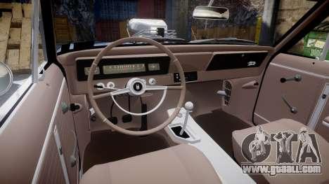 Chevrolet II Nova SS 1966 Custom [EPM] for GTA 4 back view