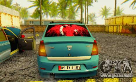 Dacia Logan 1.6 MPI Tuning for GTA San Andreas right view