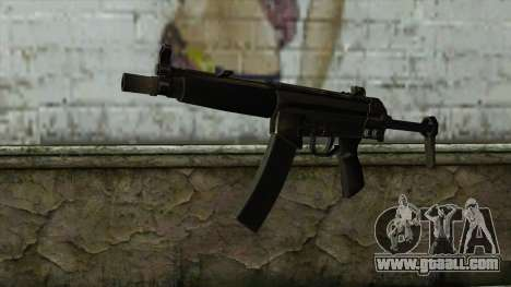 TheCrazyGamer MP5 for GTA San Andreas