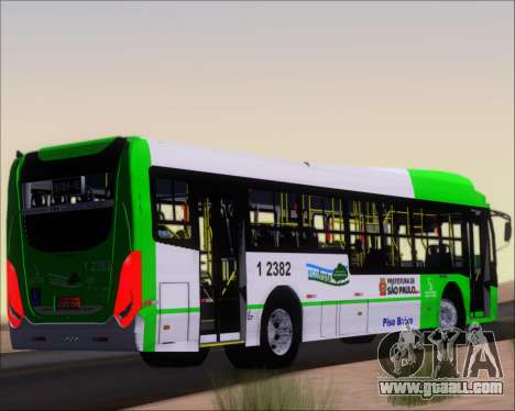 Caio Induscar Millennium BRT Viacao Gato Preto for GTA San Andreas right view