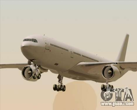 Airbus A330-300 Full White Livery for GTA San Andreas