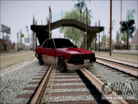Nissan Skyline GT-R R30 for GTA San Andreas