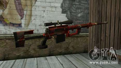 Sniper Rifle from PointBlank v3 for GTA San Andreas second screenshot