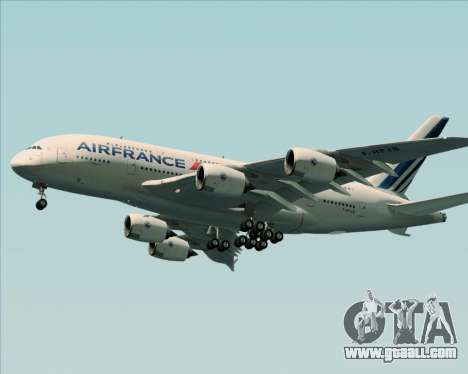 Airbus A380-861 Air France for GTA San Andreas