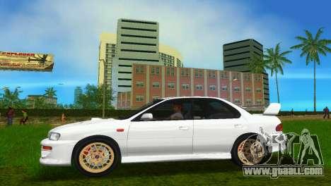 Subaru Impreza WRX STI GC8 Sedan Type 3 for GTA Vice City right view