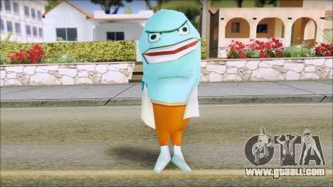 Blufish from Sponge Bob for GTA San Andreas