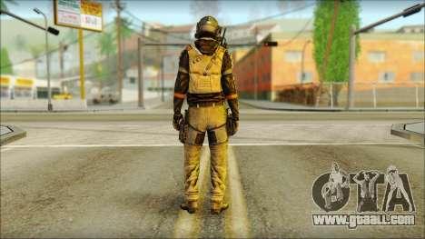 Mercenary (SC: Blacklist) v2 for GTA San Andreas second screenshot