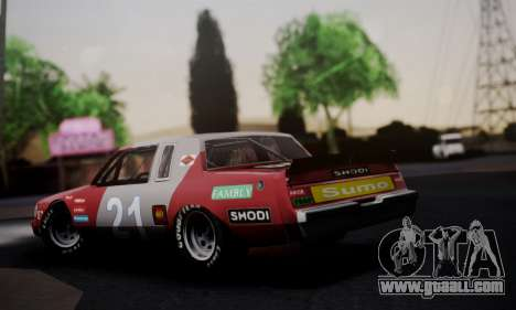 Buick Regal 1983 for GTA San Andreas left view
