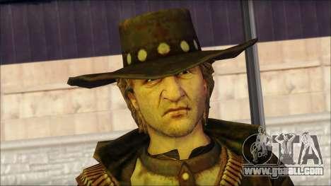 Ray McCall Gunslinger for GTA San Andreas third screenshot
