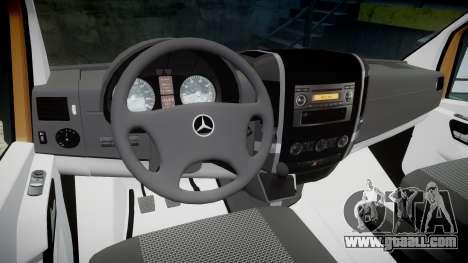 Mercedes-Benz Sprinter 313 cdi for GTA 4 back view