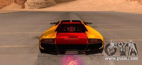 Lamborghini Murcielago for GTA San Andreas right view