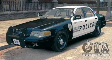 Ford Crown Victoria LCPD [ELS] Slicktop for GTA 4
