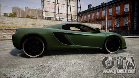 McLaren 650S Spider 2014 [EPM] Continental for GTA 4 left view