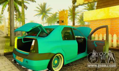 Dacia Logan Elegant for GTA San Andreas right view