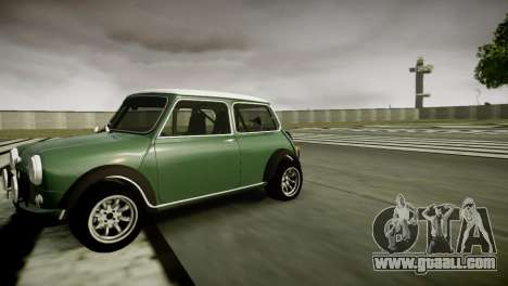 Mini Cooper RWD for GTA 4 left view