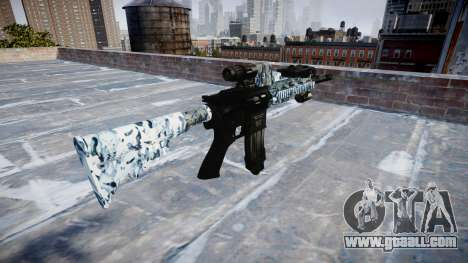 Automatic rifle Colt M4A1 skulls for GTA 4 second screenshot