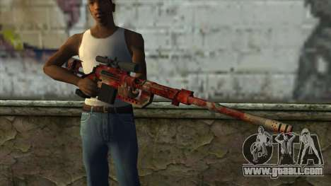 Sniper Rifle from PointBlank v3 for GTA San Andreas third screenshot