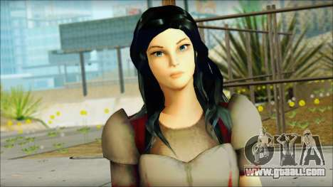 Lady Sif for GTA San Andreas third screenshot