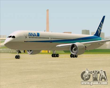 Boeing 787-9 All Nippon Airways for GTA San Andreas left view