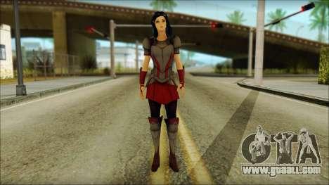 Lady Sif for GTA San Andreas