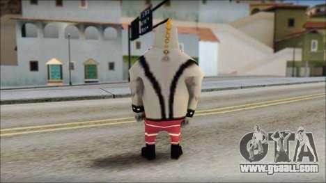 Bully from Sponge Bob for GTA San Andreas second screenshot
