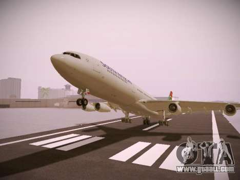 Airbus A340-300 South African Airways for GTA San Andreas