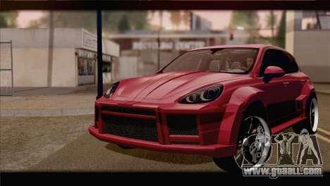 Porsche Cayenne for GTA San Andreas