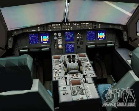 Airbus A330-300 SriLankan Airlines for GTA San Andreas interior