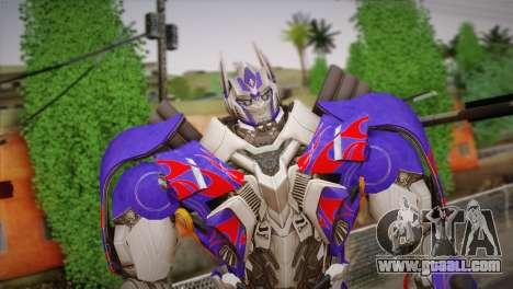 Optimus Prime for GTA San Andreas third screenshot