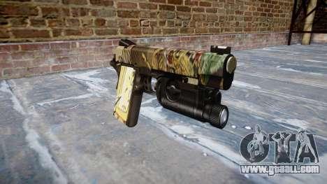 Gun Kimber 1911 Ronin for GTA 4