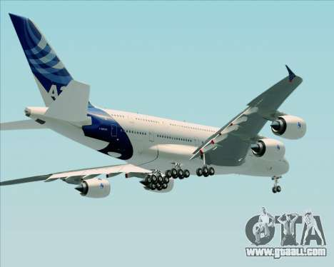 Airbus A380-861 for GTA San Andreas