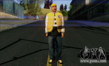 Vagos from GTA 5 Skin 3 for GTA San Andreas