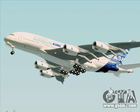 Airbus A380-861 for GTA San Andreas left view