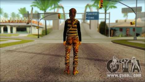 Tomb Raider Skin 1 2013 for GTA San Andreas second screenshot
