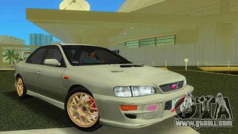 Subaru Impreza WRX STI GC8 Sedan Type 2 for GTA Vice City