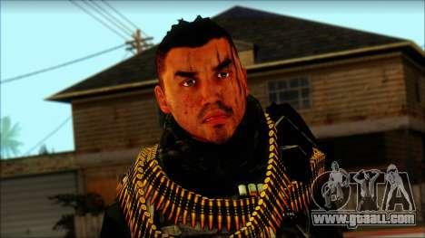 Australian Resurrection Skin from COD 5 for GTA San Andreas third screenshot