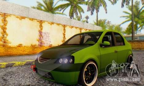 Dacia Logan MOR for GTA San Andreas