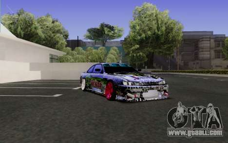 Nissan Silvia S14 Monster Energy for GTA San Andreas