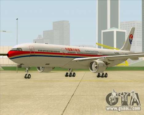 Airbus A330-300 China Eastern Airlines for GTA San Andreas left view