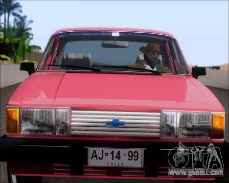 Chevrolet Opala Diplomata 1987 for GTA San Andreas back view