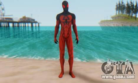 Skin The Amazing Spider Man 2 - Scarlet Spider for GTA San Andreas second screenshot
